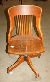Vintage wooden office chair 1930s Icollectorcom Vintage Wood Office Chair