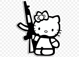Previously, postcards and other similar trifles with their picture were issued, but they did not have such success. Hello Kitty Coloring Book Colouring Pages Cat Image Png 488x591px Hello Kitty Artwork Birthday Black Black