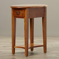 Apple Valley Kitchen Cabinets Charlton Home Apple Valley Oval End Table Reviews Wayfair