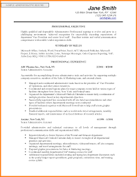 Resume Objective Sales Resume For Your Job Application