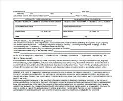 Authorization Letter To Release Medical Information Sample Records ...