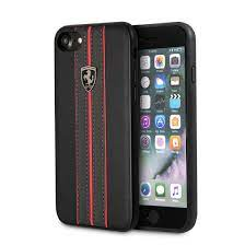 All of our iphone 8 plus cases and iphone 8 plus covers provide optimal protection to your iphone 24/7, cause we know how precious this baby is to you. Ferrari Iphone 8 Iphone 7 Leather Hard Case Black Ferrari Logo