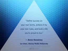 quotes from women entrepreneurs bplans bplans define success in your own terms achieve it by your own rules and build a life you re proud to live anne sweeney tweet this