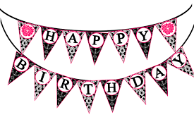 Happy Birthday Birthday Banner Clipart Free Download Clip Art