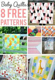 simple baby quilt these free baby quilt patterns are too cute to resist simple baby quilt delight free baby quilt pattern