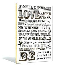 love rules wall art love rules wall art rules canvas wall art for wrapped canvas love