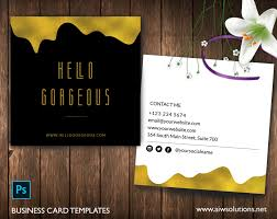 Place Card Template Beauteous Premade Business Card Template Name Card Template Photography Name