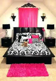 Black And White Girl Bedroom Designs Interior Pink And White Rooms