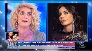 Volano stracci tra Nina Moric e la madre di Luigi Favoloso ...