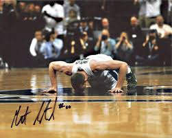 Matt Costello Kissing The Floor At The Breslin Autographed 16x20 Photo at  Amazon's Sports Collectibles Store