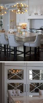 Fabulous design mirrored Frames Fabulous White And Mirrored Kitchen Remodel Kitchen Remodel Design By Nanci Marsman Of Standale Interiors Featuring Durasupreme Cabinetry With Mirrored Pinterest Fabulous White And Mirrored Kitchen Remodel Kitchen Remodel Design