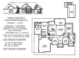 3 Bedroom 2 Bath House Plans Custom Decoration
