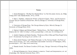 footnotes and works cited chicago style for research papers endnote footnotes