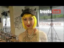 Street style of Misha Janette Fleming at Paris fashion week - YouTube