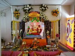 home design image ideas home ganpati decoration ideas