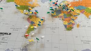 World Pin Map Barca Fontanacountryinn Com