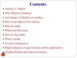 Analog Vs Digital Circuit Design Digital Electronics Introduction Powerpoint Slides
