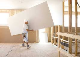 drywall sheetrock install per sheet