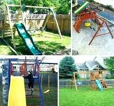 wooden swing sets for home accessories for swing set outdoor swing set accessories home depot backyard wooden swing