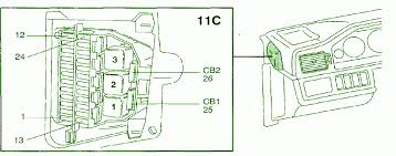 heated rear windowcar wiring diagram 1995 volvo 960 wagon 6 cyl fuse box diagram