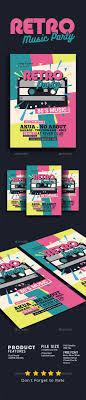 80's Retro Music Party Cassette | Pinterest | Music Party, Flyer ...