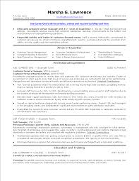 Free Sales Service Manager Resume Templates At