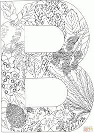 Alphabet Coloring Pages Raovat24hinfo
