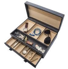 wood valet tray diy dresser top organizer travel valet tray mens regarding mens valet tray renovation