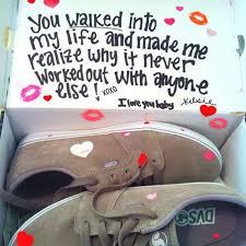 romantic shoe box