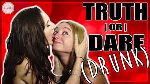Drunk teens playing truth or dare