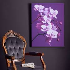 41 324 purple orchid canvas on purple orchid wall art with graham and brown purple orchid canvas 41 324 wall art