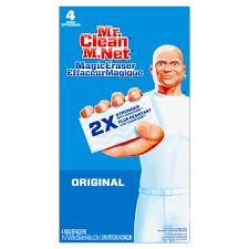 mr clean magic eraser original cleaning pads with durafoam 4 count com
