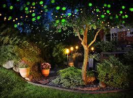 effective garden lighting