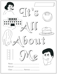 All About Me Worksheets Pdf All About Me Coloring Pages Worksheets Talegadayspa Com