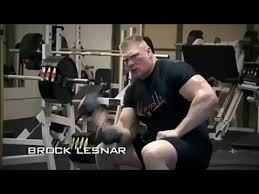 brock lesnar ufc 2018 promo fighting chion new workout video