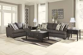 Levitz Bedroom Furniture Charcoal Sofa W Accent Pillows Sam Levitz Furniture