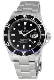rolex luxury watches pro watches men s rolex oyster precision submariner chronometer stainless steel watch