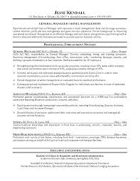 Hotel Assistant General Manager Resume Sample