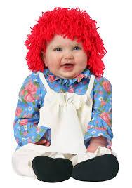 infant raggedy ann costume