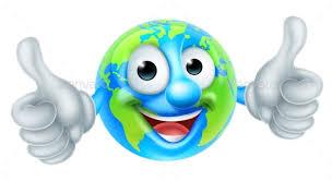 Image result for cartoon globe