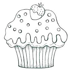 cute cake coloring pages. Contemporary Coloring Cute Cupcake Coloring Pages Page Cup Cake  To Print Printable  With L