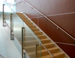 Staircase Side Railing Designs White Steel Wood Straight Stairs With Glass Railings Buy Steel Wood Straight Stairs Straight Stairs With Glass Railings Steel Folding Stairs Product