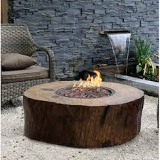natural gas fire bowl. Brilliant Bowl Burning Stomp Stone Natural Gas Fire Pit Table With Bowl