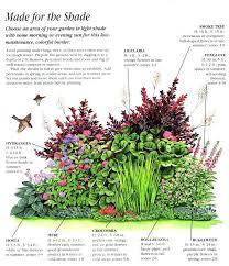 shade garden ideas ideas for an easy care shady border gardens shade garden ideas ontario