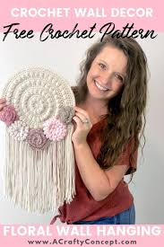 Boho wave crochet wall hanging. How To Make An Easy Crochet Tapestry Quick And Free Pattern