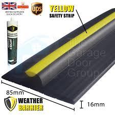 16mm garage door heavy duty floor mount threshold weather seal draught excluder 1 of 8 see more