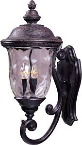 Carriage Lighting Canyon Country Maxim Lighting 40424wgob Carriage House Vx 3 Light Bottom Mount Outdoor 26 5 Inch Wall Lantern Oriental Bronze Finish