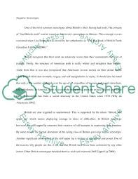 Stereotype Essay Examples Dew Drops