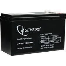 Купить <b>Батарея Gembird BAT-12V7.2AH</b> ( <b>12V</b> 7.2Ah/20HR ), АКБ ...