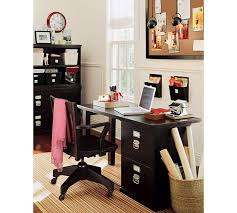 we have this desk pottery barn bedford small desk set